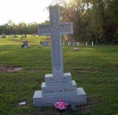 DAVIS, ERICA - Greene County, Arkansas | ERICA DAVIS - Arkansas Gravestone Photos