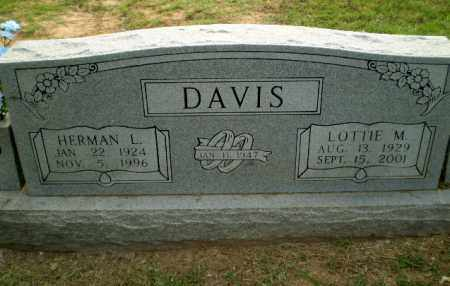 DAVIS, LOTTIE M - Greene County, Arkansas | LOTTIE M DAVIS - Arkansas Gravestone Photos