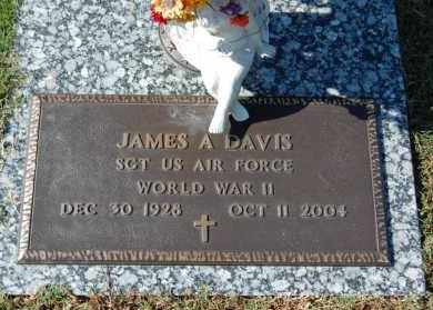 DAVIS (VETERAN WWII), JAMES A. - Greene County, Arkansas | JAMES A. DAVIS (VETERAN WWII) - Arkansas Gravestone Photos