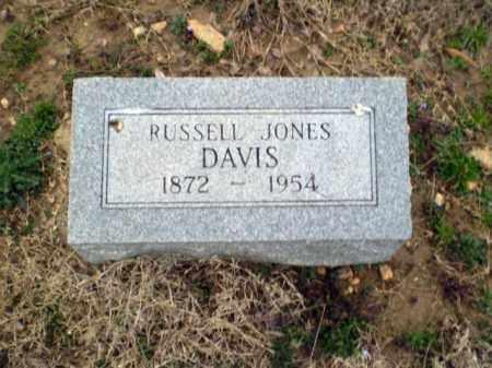 DAVIS, RUSSELL JONES - Greene County, Arkansas   RUSSELL JONES DAVIS - Arkansas Gravestone Photos