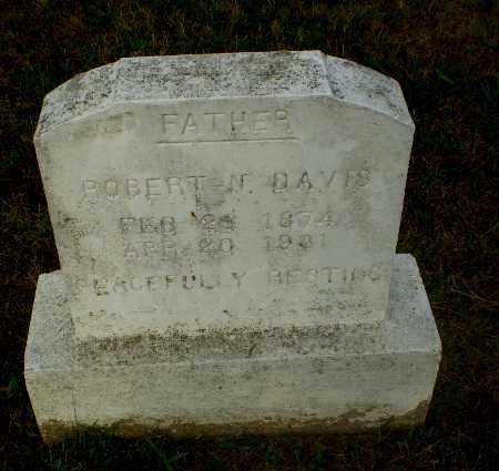 DAVIS, ROBERT N - Greene County, Arkansas | ROBERT N DAVIS - Arkansas Gravestone Photos