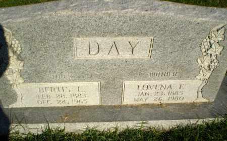 DAY, BERTIS E - Greene County, Arkansas | BERTIS E DAY - Arkansas Gravestone Photos