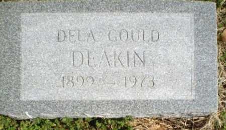 DEAKIN, DELA GOULD - Greene County, Arkansas   DELA GOULD DEAKIN - Arkansas Gravestone Photos