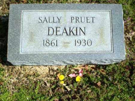 DEAKIN, SALLY PRUET - Greene County, Arkansas | SALLY PRUET DEAKIN - Arkansas Gravestone Photos