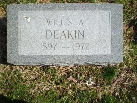 DEAKIN, WILLIS A - Greene County, Arkansas | WILLIS A DEAKIN - Arkansas Gravestone Photos