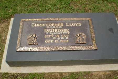 DEBROSSE, CHRISTOPHER LLOYD - Greene County, Arkansas | CHRISTOPHER LLOYD DEBROSSE - Arkansas Gravestone Photos