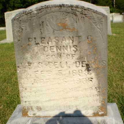 DENNIS, PLEASANT C - Greene County, Arkansas | PLEASANT C DENNIS - Arkansas Gravestone Photos