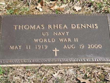 DENNIS, THOMAS RHEA - Greene County, Arkansas | THOMAS RHEA DENNIS - Arkansas Gravestone Photos