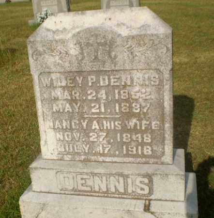 DENNIS, WILEY P - Greene County, Arkansas | WILEY P DENNIS - Arkansas Gravestone Photos