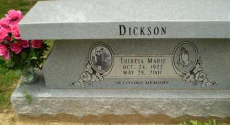 DICKSON, THERESA MARIE - Greene County, Arkansas | THERESA MARIE DICKSON - Arkansas Gravestone Photos