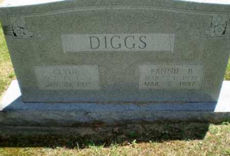 DIGGS, FANNIE B - Greene County, Arkansas   FANNIE B DIGGS - Arkansas Gravestone Photos