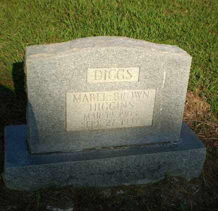 HIGGINS DIGGS, MABEL BROWN - Greene County, Arkansas | MABEL BROWN HIGGINS DIGGS - Arkansas Gravestone Photos
