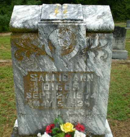DIGGS, SALLIE ANN - Greene County, Arkansas | SALLIE ANN DIGGS - Arkansas Gravestone Photos