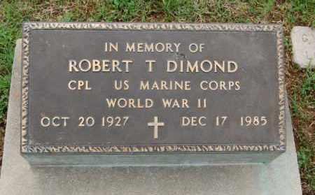 DIMOND (VETERAN WWII), ROBERT T - Greene County, Arkansas | ROBERT T DIMOND (VETERAN WWII) - Arkansas Gravestone Photos