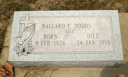 DODDS, BALLARD E - Greene County, Arkansas | BALLARD E DODDS - Arkansas Gravestone Photos