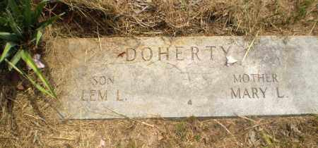 DOHERTY, MARY L - Greene County, Arkansas | MARY L DOHERTY - Arkansas Gravestone Photos