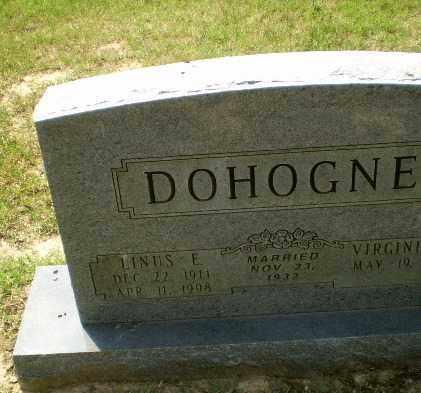 DOHOGNE, LINUS E - Greene County, Arkansas   LINUS E DOHOGNE - Arkansas Gravestone Photos