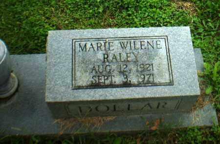 RALEY DOLLAR, MARIE WILENE - Greene County, Arkansas   MARIE WILENE RALEY DOLLAR - Arkansas Gravestone Photos