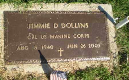 DOLLINS  (VETERAN), JIMMIE D - Greene County, Arkansas | JIMMIE D DOLLINS  (VETERAN) - Arkansas Gravestone Photos