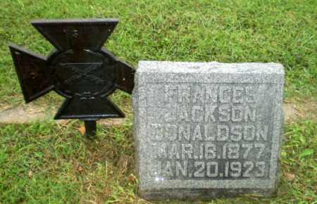DONALDSON, FRANCES JACKSON - Greene County, Arkansas | FRANCES JACKSON DONALDSON - Arkansas Gravestone Photos