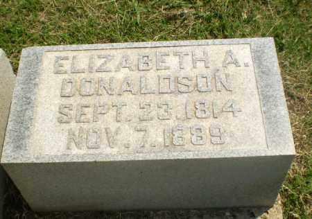 DONALDSON, ELIZABETH A - Greene County, Arkansas   ELIZABETH A DONALDSON - Arkansas Gravestone Photos