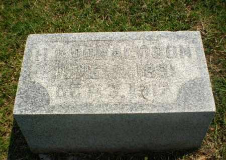 DONALDSON, H.R. - Greene County, Arkansas   H.R. DONALDSON - Arkansas Gravestone Photos