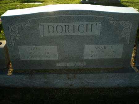 DORTCH, JOHN D - Greene County, Arkansas | JOHN D DORTCH - Arkansas Gravestone Photos