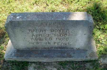 DOVER, HARRY - Greene County, Arkansas   HARRY DOVER - Arkansas Gravestone Photos