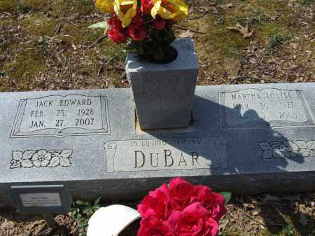 DUBAR, MARTHA LOUISE - Greene County, Arkansas | MARTHA LOUISE DUBAR - Arkansas Gravestone Photos