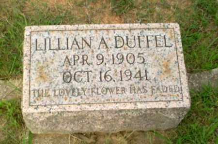 DUFFELL, LILLIAN A - Greene County, Arkansas | LILLIAN A DUFFELL - Arkansas Gravestone Photos