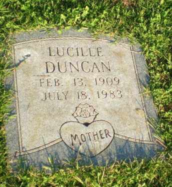 DUNCAN, LUCILLE - Greene County, Arkansas   LUCILLE DUNCAN - Arkansas Gravestone Photos