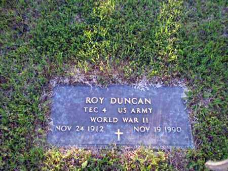 DUNCAN  (VETERAN WWII), ROY - Greene County, Arkansas   ROY DUNCAN  (VETERAN WWII) - Arkansas Gravestone Photos