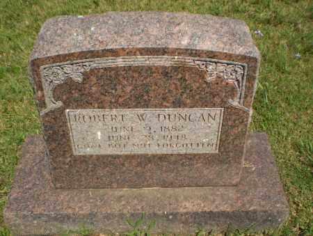 DUNCAN, ROBERT W - Greene County, Arkansas | ROBERT W DUNCAN - Arkansas Gravestone Photos