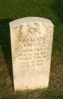 EAKER  (VETERAN WWII), WILLIAM C - Greene County, Arkansas   WILLIAM C EAKER  (VETERAN WWII) - Arkansas Gravestone Photos