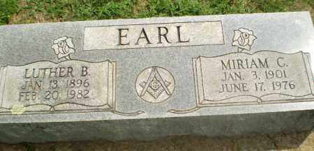 EARL, MIRIAM C - Greene County, Arkansas | MIRIAM C EARL - Arkansas Gravestone Photos