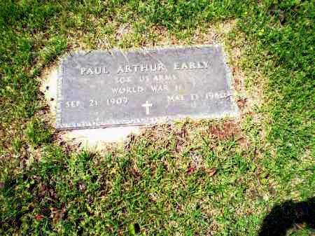 EARLY  (VETERAN WWII), PAUL ARTHUR - Greene County, Arkansas | PAUL ARTHUR EARLY  (VETERAN WWII) - Arkansas Gravestone Photos