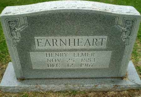 EARNHEART, HENRY ELMER - Greene County, Arkansas | HENRY ELMER EARNHEART - Arkansas Gravestone Photos