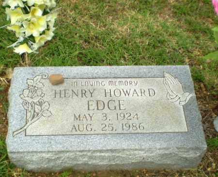 EDGE, HENRY HOWARD - Greene County, Arkansas | HENRY HOWARD EDGE - Arkansas Gravestone Photos