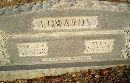 EDWARDS, WILL L - Greene County, Arkansas | WILL L EDWARDS - Arkansas Gravestone Photos
