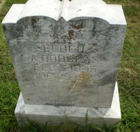 ELDER, A. DOUGLAS - Greene County, Arkansas   A. DOUGLAS ELDER - Arkansas Gravestone Photos