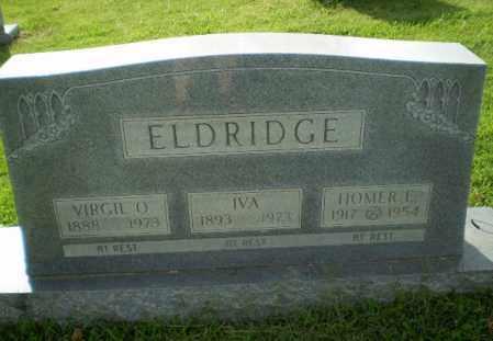 ELDRIDGE, IVA - Greene County, Arkansas | IVA ELDRIDGE - Arkansas Gravestone Photos