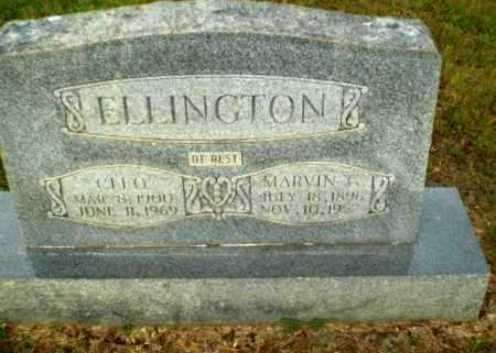 ELLINGTON, MARVIN - Greene County, Arkansas | MARVIN ELLINGTON - Arkansas Gravestone Photos