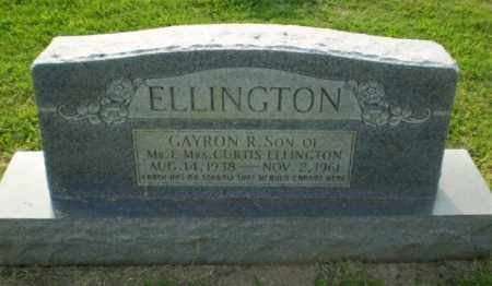 ELLINGTON, GAYRON R - Greene County, Arkansas   GAYRON R ELLINGTON - Arkansas Gravestone Photos