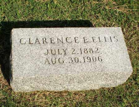 ELLIS, CLARENCE E - Greene County, Arkansas   CLARENCE E ELLIS - Arkansas Gravestone Photos