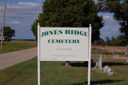 ENTRANCE, JONES RIDGE CEMETERY - Greene County, Arkansas | JONES RIDGE CEMETERY ENTRANCE - Arkansas Gravestone Photos