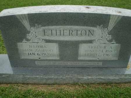 ETHERTON, ARTHUR A - Greene County, Arkansas | ARTHUR A ETHERTON - Arkansas Gravestone Photos