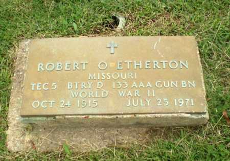 ETHERTON (VETERAN WWII), ROBERT O - Greene County, Arkansas   ROBERT O ETHERTON (VETERAN WWII) - Arkansas Gravestone Photos