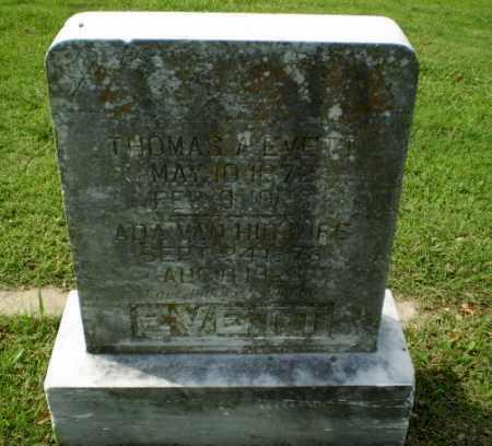 EVETT, THOMAS A - Greene County, Arkansas | THOMAS A EVETT - Arkansas Gravestone Photos