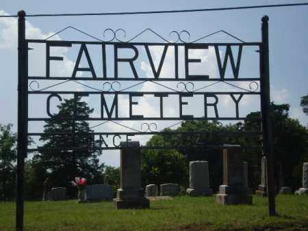 *FAIRVIEW CEMETERY, SIGN - Greene County, Arkansas | SIGN *FAIRVIEW CEMETERY - Arkansas Gravestone Photos