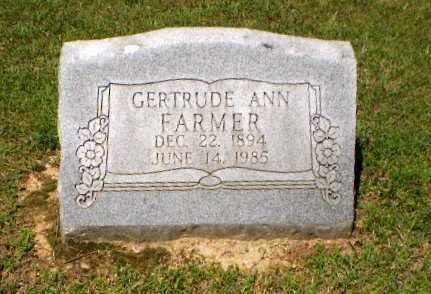 FARMER, GERTRUDE ANN - Greene County, Arkansas   GERTRUDE ANN FARMER - Arkansas Gravestone Photos